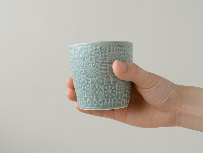 BIRDS'WORDS(バーズワーズ) PATTERNED CUP パターンドカップ